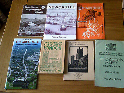 Job Lot Of 13 Old Guides
