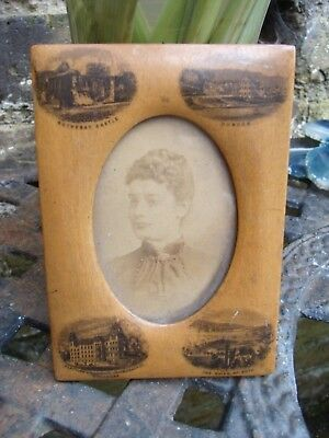 Victorian Mauchline Ware Photograph Frame