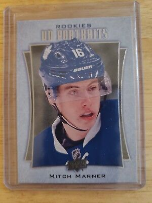 2016-17 Upper Deck Series Two UD PORTRAITS ROOKIES Mitch Marner Maple Leafs