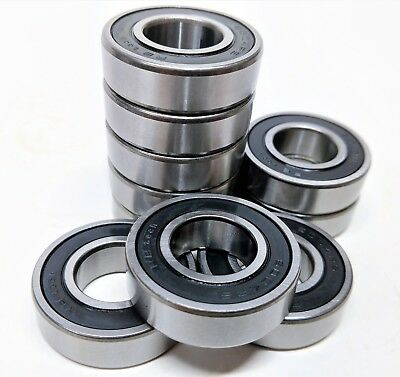 1pcs 6004-2RS Sealed Full Ceramic Bearing ZrO2 Ball Bearing 20x42x12mm #A38X LW