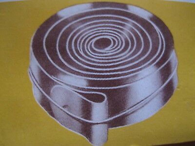 CLOCK SPARES  ... MAIN SPRING FOR 8 DAY CLOCK , SIZE : 19.00 x 0.45 mm