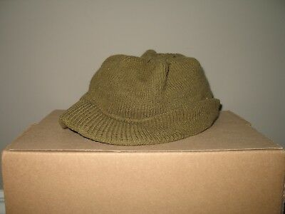 US WWII Original Military Knit Jeep Hat Cap