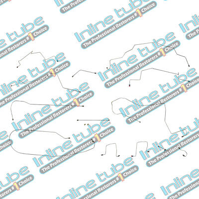 1998-2001 Ram 1500 / 2500 2Wd 4Wd Rear Abs  Short Bed Brake Line Kit Stainless
