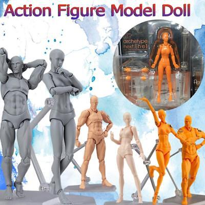13CM Model Mannequin Sketch Figure Artist Movable Hand Art Limbs Body Drawing