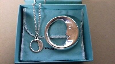 A Boxed Tiffany Silver Baby Rattle & Silver Pendant Tiffany Silver Rattle