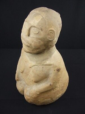 Museum Grade Prehistoric Tennessee Duck River Stone Idol Statue Indian Artifacts