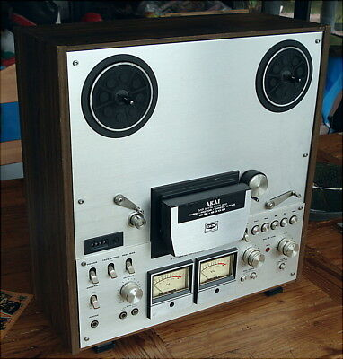 Vintage AKAI GX 630D Reel To Reel Tape Player/Recorder POWERS ON BUT UNTESTED