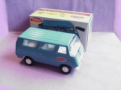 Original Vintage 1960s Tiny Tonka Van Station Wagon. 529 Boxed & VERY NEAR MINT