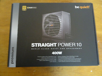 !!! BeQuiet Straight Power E10 400W 80Plus Gold !!!