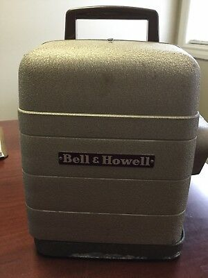Vintage Bell and Howell 8mm Movie Projector Model 253R Tested/Works