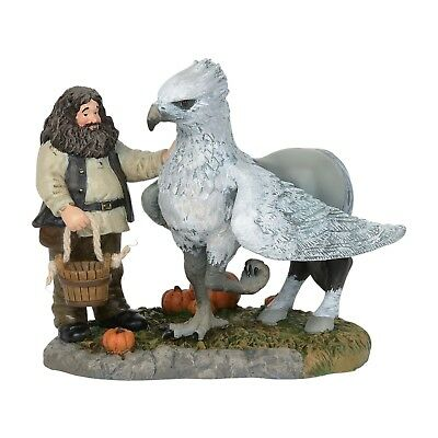 Dept 56 2018 Harry Potter Village Hagrid & Hippogriff 6002315 NIB