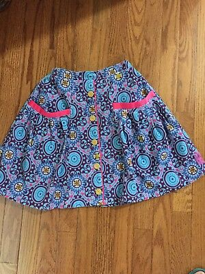 Matilda Jane Paint By Numbers Corduroy Skirt Size 10