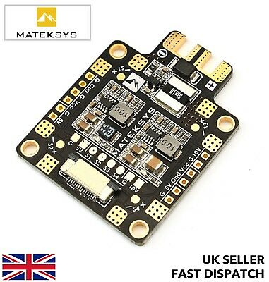 Matek FCHUB-6S PDB w/ current sensor 184a BEC 5v 10v 6S max Power Distribution