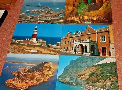 "Set of 6 Vintage Place/Table mats - ""Gibraltar"" themed design by Hema - Spain"