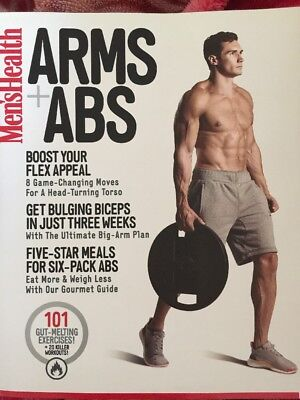 Mens Health Arms And Abs Mag Book Brand New