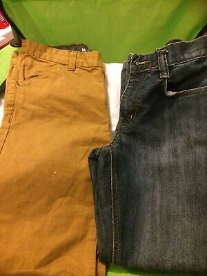 2 Pairs Of Boys Jeans Age 9-10 And 10-11 Years Used