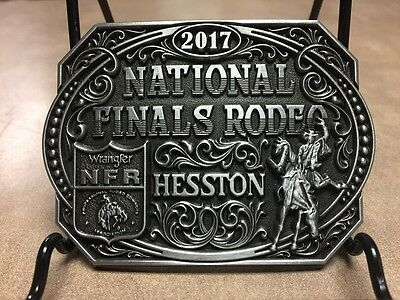 "2017 Hesston National Finals Rodeo ""Womens/Youth"" Belt Buckle"