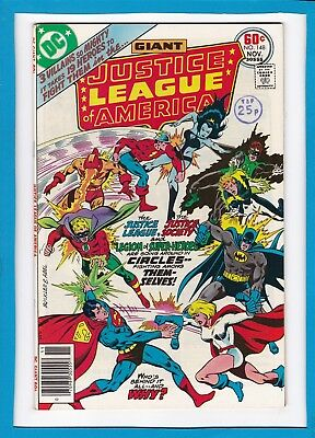 Justice League Of America #148_November 1977_Very Fine_Bronze Age Dc Giant!