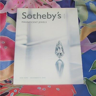 Sotheby'S Catalog New York December 11, 2003 Magnificent Jewels