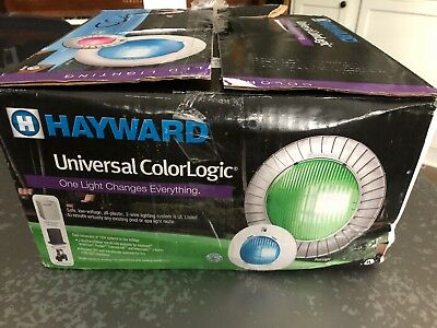 Hayward LSCUN11100 12V Universal ColorLogic LED Networked Spa Light w/ 50' Cord
