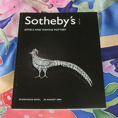 Sotheby'S Catalog Gleneagles Hotel 30 August 2005 Jewels And Wemyss Pottery