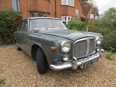 Rover 3 Litre, Manual+Overdrive With Power Steering