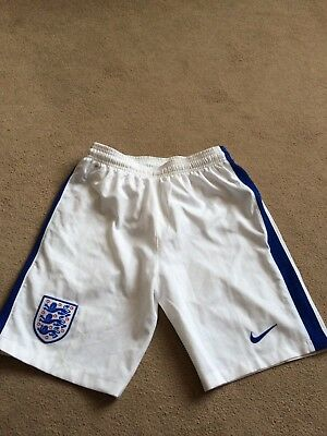 Nike England Football Shorts Kids Child's Boys Youth 12-13 years size large L