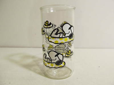 Snoopy Peanuts Summer Theme Drinking Glass