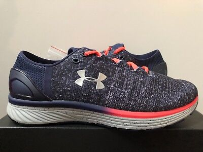 sports shoes b5914 b9c29 MEN'S UNDER ARMOUR UA Charged Bandit 3 Grey Navy 1295725-003 Size 8-13 NEW