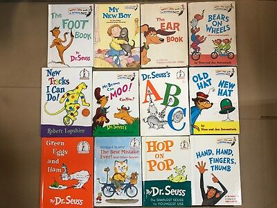 Lot of 20 Dr. Seuss I Can Read It Beginner Early Children Kids Read Books #N43