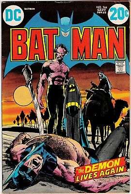 Batman #244 Ra's Al Ghul by Neal Adams Classic Cover FN-VF