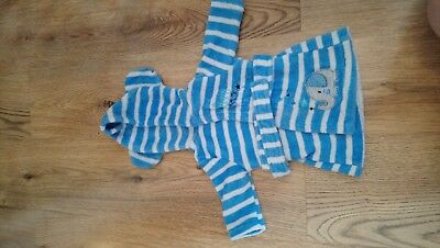 Baby Boys 0-3 Months Dressing Gown