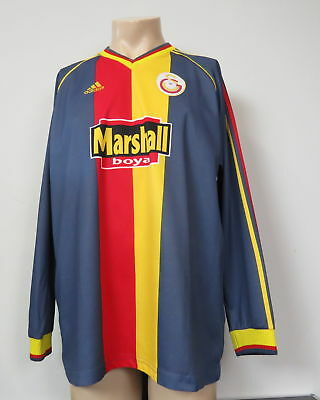 Galatasaray 1998-99 l/s third shirt adidas marshall jersey size XL