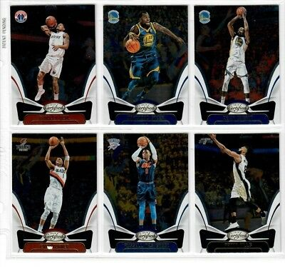 2018 19 Panini Certified Base You Pick DURANT GIANNIS TATUM MITCHELL LEBRON ++++