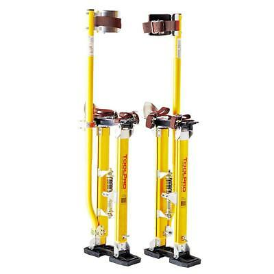 24-40'' ToolPro Magnesium Adjustable Drywall Stilts Painting Painter Taping Tool