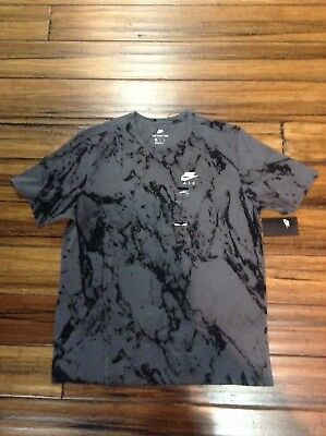 "Nike Sportswear GREY/BLACK ""Goddess of Victory"" T-shirt AR4037-021 NEW"