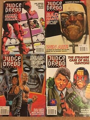 Judge Dredd The Megazine Vol 2 No 69-72 1994/95