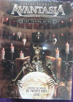 The Flying Opera Around the World in Twenty Days 2 cd+ 2 dvd 2 booklets 20 pages