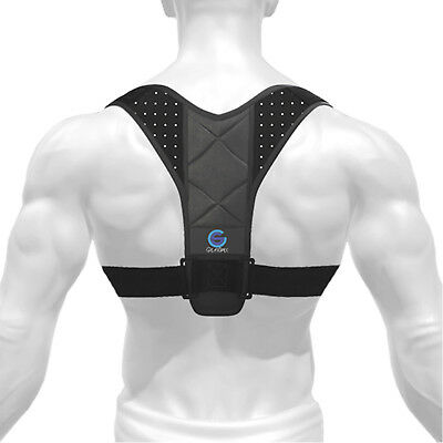 Back Posture Corrector for Men and Women, Fully Adjustable and Comfortable (S/M)