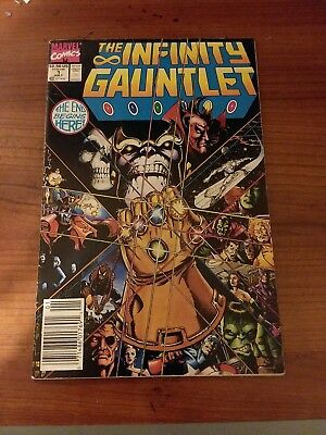 Infinity Gauntlet #1 Classic Cover And Story! Marvel!
