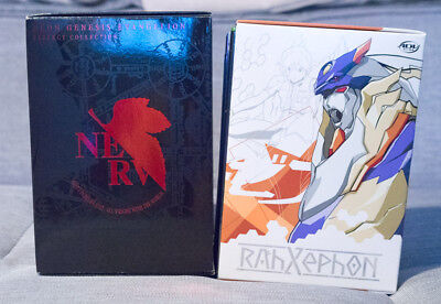 Neon Genesis Evangelion & Rahxephon Official Collector's Box ONLY