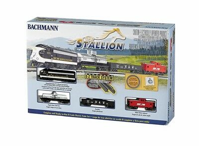 Set,the Stallion,w/n/s Ezt Bac24025 Bachmann