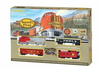 Set,santa Fe Flyer Bac00647 Bachmann