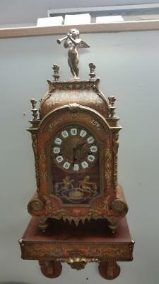 Franz Hermle & Sons Italian Reproduction Boulle Bracket Clock