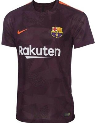48h-SALE NEW €85 Nike 2018 FC Barcelona Fußball Soccer Football Trikot shirt M