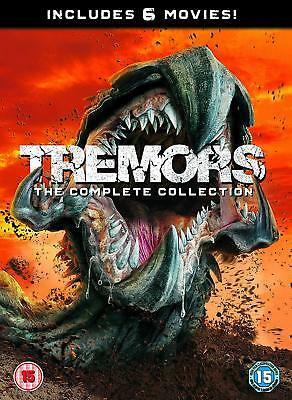 Tremors Anthology 1, 2, 3, 4, 5 & 6 DVD Movies collection New & Sealed R4