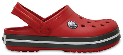 NEW Genuine Crocs Boys Crocband Clog K Pepper/Graphite - Australia Store