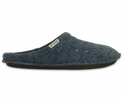 NEW Genuine Crocs Mens Classic Slipper Nautical Navy/Oatmeal