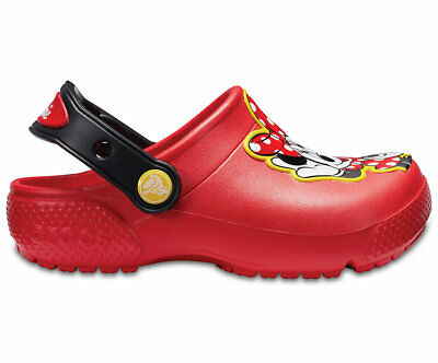 NEW Genuine Crocs Girls FunLab Minnie Clog Flame