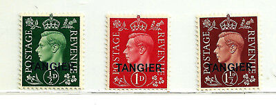 Great Britain - Offices Abroad - Morocco - Tangier - Scott 515-17 - Unused
